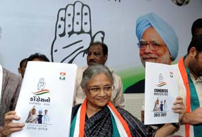 Gujarat polls: Congress promises free laptops, tablets