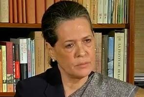 We have heard your voice, says Sonia Gandhi