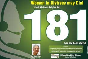 Much-hyped 181 helpline for Delhi women makes sputtering debut