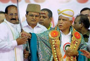 BS Yeddyurappa's show of strength: BJP leaders, thousands present at formal launch of his party