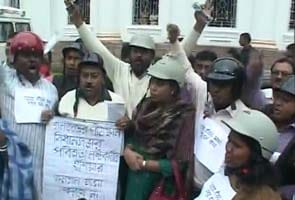 Congress' way of dealing with clashes in Bengal Assembly: Lawmakers wear helmets
