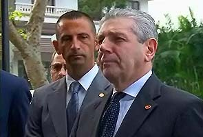 Italian Defence Minister visits two marines in Kochi; hopes they can go home for Christmas