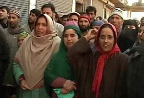 Women panchayat members in Kashmir protest Omar Abdullah's 'make-up kit' remark