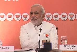 Narendra Modi releases Gujarat poll manifesto: Highlights
