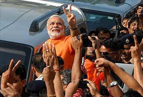 Exit polls forecast big win for Narendra Modi