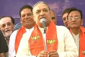 Gujarat elections: Blow to Congress as Narhari Amin joins BJP