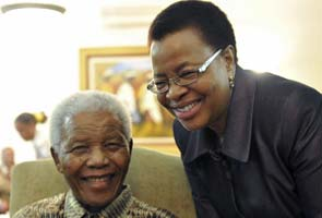 Nelson Mandela close to medical care at home