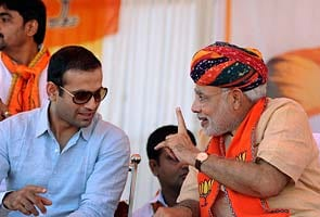 Gujarat elections: Cricketer Irfan Pathan campaigns with Narendra Modi