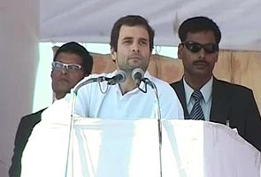 Gandhi is my role model, says Rahul on Narendra Modi's turf
