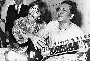 Pandit Ravi Shankar's influence on Beatles, others