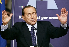 Former Italian premier Silvio Berlusconi is engaged