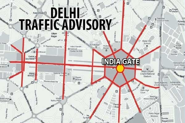After 'Amanat's' death, 10 metro stations, roads near India Gate closed