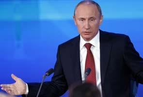 Russian President Vladimir Putin arrives today for bilateral talks