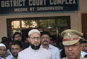Asaduddin Owaisi's bail plea rejected for second time in 2005 case