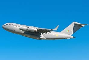 Boeing delivers first C-17 to Indian Air Force for flight tests