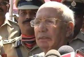 Karnataka government not in crisis for now, says Governor HR Bhardwaj