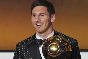 Lionel Messi wins fourth consecutive FIFA 'World Player of the Year' award