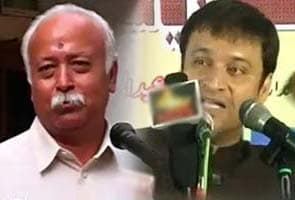 BJP upset after Nitish Kumar's party leader compares RSS chief to Akbaruddin Owaisi