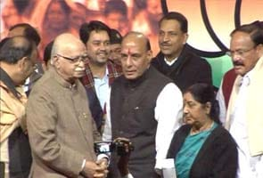 Rajnath Singh to be BJP President, files nomination