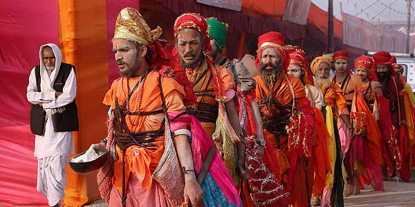100 million head to Ganges for Kumbh Mela festival