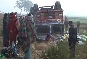 25 labourers killed in accident in Bihar