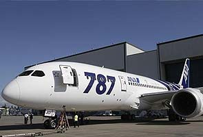 Gleaming new 787s stack up at Boeing factory