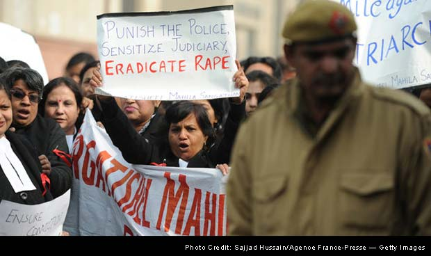 Murder charges are filed against 5 in New Delhi gang rape