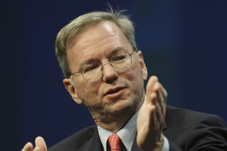 Google's Eric Schmidt urges Internet openness in North Korea