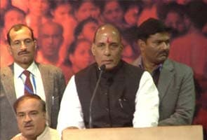 Highlights: Nobody can question Nitin Gadkari, says Rajnath Singh