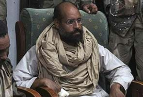 Gaddafi's son appears in Libyan court for the first time