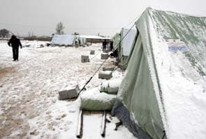 Winter storm brings devastation to Syria and neighbours