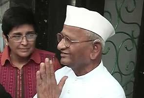 Kiran Bedi differs with Anna Hazare, backs amended Lokpal Bill