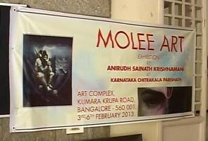 In Bangalore, moral policing means three paintings face the wall