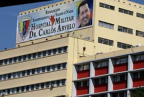 All eyes on Venezuelan hospital, no sign of Hugo Chavez