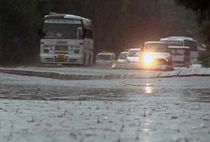Cloudy, rainy Sunday expected in Delhi