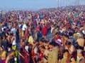 Lakhs throng Kumbh on Maghi Poornima