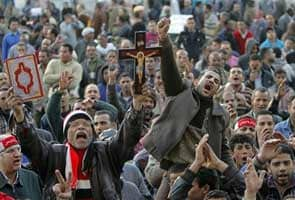 Egyptians protest on anniversary of Hosni Mubarak's fall