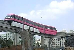 A sneakpeek into Mumbai's gleaming new monorail