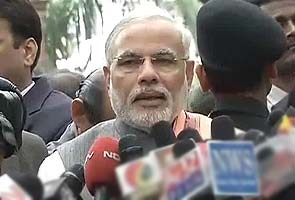 Narendra Modi tells state MPs to raise issues of Gujarat in Budget Session
