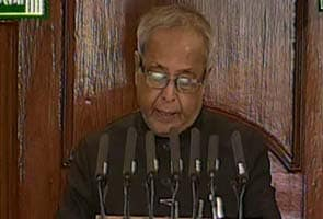 In his first address to Parliament, President Pranab Mukherjee seeks productive session