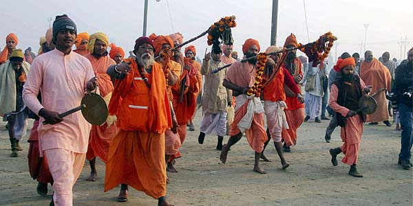 Two killed in stampede at Kumbh Mela
