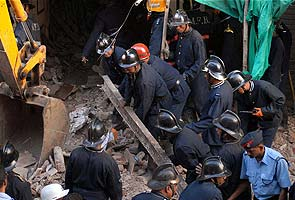 Two killed in Mumbai building collapse
