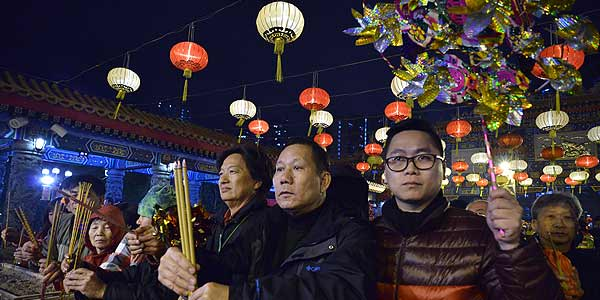 Raucous celebrations as Asia greets Year of Snake