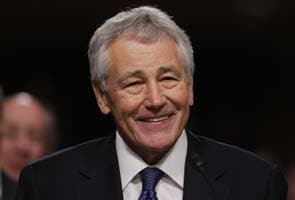 Chuck Hagel takes top United States defense job as budget cuts loom
