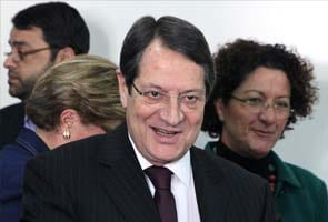 Nicos Anastasiades wins Cyprus presidential election: exit polls