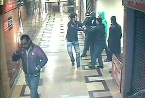 Caught on camera: Security guards beaten up at Gurgaon mall