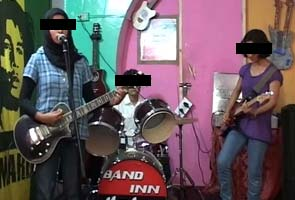 Two men arrested for allegedly abusing members of Kashmir's all-girls rock band online
