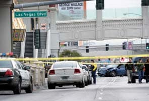Three killed in Las Vegas 'rolling shootout'