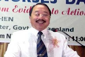 After cash, arms seized from his car, Nagaland home minister resigns
