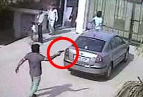 Police release CCTV footage of men who allegedly shot BSP leader Deepak Bhardwaj at farmhouse